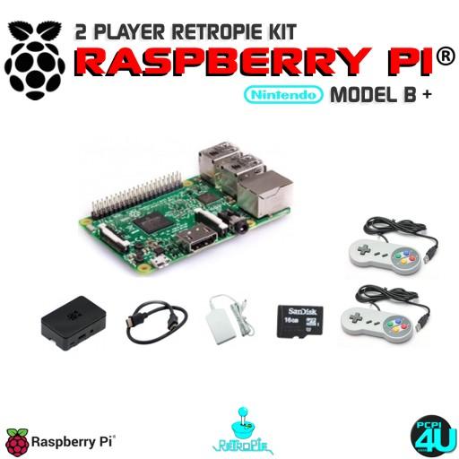 2 Player Raspberry pi 3B+ RetroPie Gaming Kit